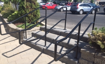 Commerical Steps and Railing